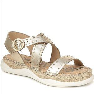 Sam Edelman glam comfy sandals